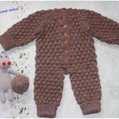 """Комбинезон для малыша """"Медвежонок"""""""