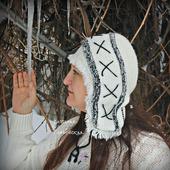 Женская шапочка в этно-стиле