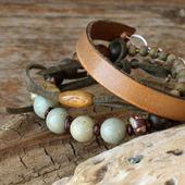 фото: Украшения (браслет из натуральных камней)