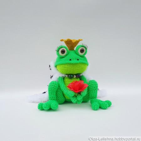 Царевна-лягушка ручной работы на заказ