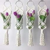Кашпо для цветов (макраме)