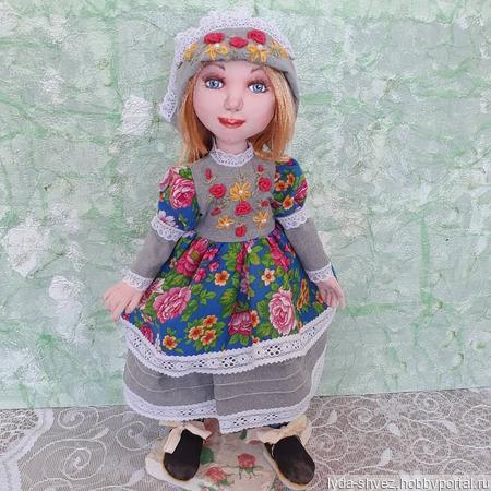 Кукла Дуняша ручной работы на заказ
