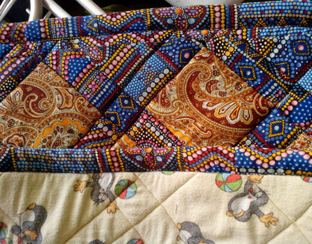 Лоскутное одеяло ручной работы на заказ