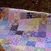 Лоскутное одеяло Борки