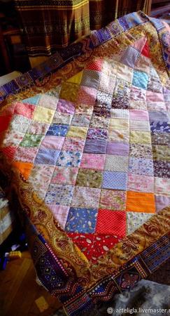 Лоскутное одеяло Борки ручной работы на заказ