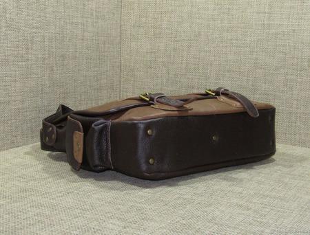 """Мужская кожаная сумка мессенджер """"Легион"""" ручной работы на заказ"""