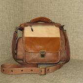 """Мужская сумка планшет из натуральной кожи """"Гамбит"""""""