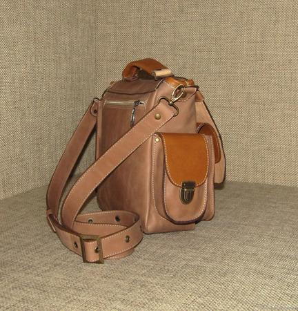 """Мужская сумка планшет из натуральной кожи """"Гамбит"""" ручной работы на заказ"""