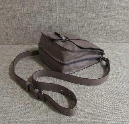 """Кожаная мужская сумка планшет """"Виктор"""" табачного цвета ручной работы на заказ"""