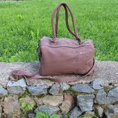 """Женская кожаная сумка """"Астарта"""" сиреневая"""