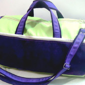 Спортивная сумка ВИКТОРИЯ из искусственной кожи и текстиля