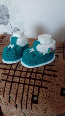 Пинеточки для новорожденных ручной работы на заказ
