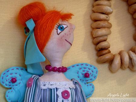 "Кукла ""Мадам Баранкина"" ручной работы на заказ"