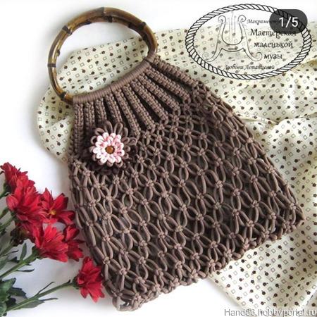 Модные сумки авоськи ручной работы на заказ