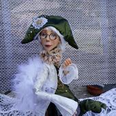 """Коллекционная кукла """"Поговорим? или Разговор с ангелом"""""""