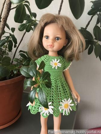 Летнее платье на Паолочку «Ромашки» ручной работы на заказ