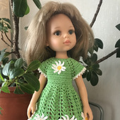 Летнее платье на Паолочку «Ромашки»