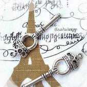 Накладка декор ключ подвеска Ф-118 украшение