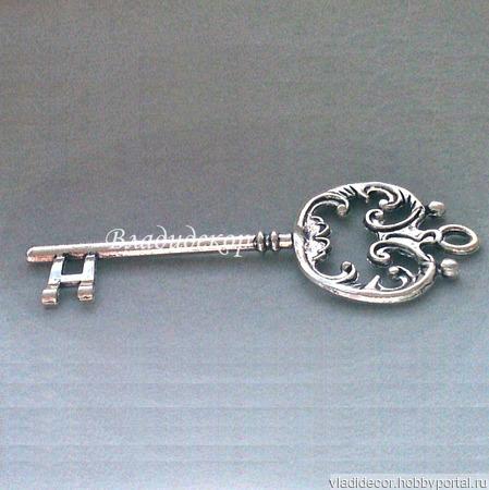 Накладка декор ключ подвеска Ф-199 украшение ручной работы на заказ