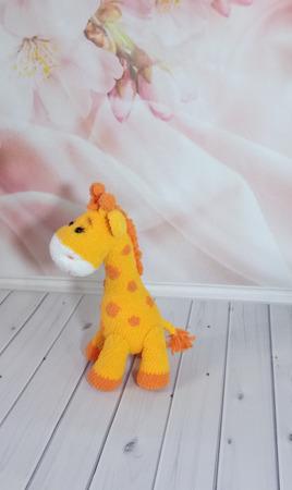Плюшевая Жирафка Мелоди ручной работы на заказ