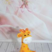 Плюшевая Жирафка Мелоди