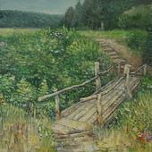 Живопись «Калинов мост»