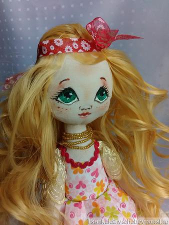 Куколка в стиле Тильда ручной работы на заказ