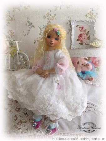 Коллекционная авторская кукла ручной работы на заказ