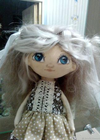 Текстильная куколка ручной работы на заказ