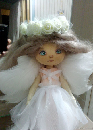 Ангел-хранитель ручной работы на заказ