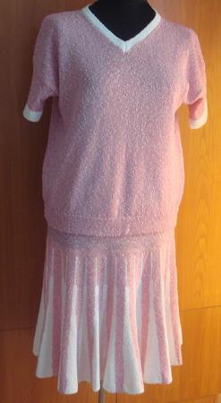 Комплект из юбки и топа ручной работы на заказ