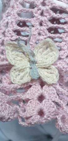 Шляпка с бабочкой ручной работы на заказ