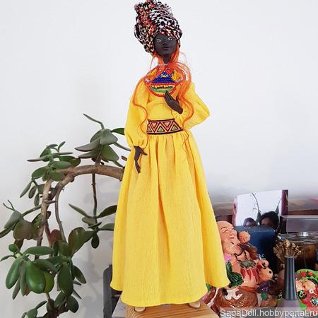 Африканка ручной работы на заказ