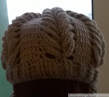 Шапка и два шарфа ручной работы на заказ