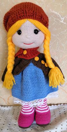 Интерьерная кукла Софи ручной работы на заказ