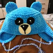 Тёплая шапочка для ребёнка