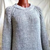 Базовый вязаный свитер в Москве