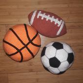 Вязаные мячи