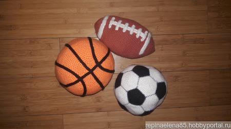 Вязаные мячи ручной работы на заказ