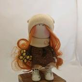 Интерьерная куколка Тильда с бабочкой