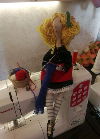Кукла интерьерная в подарок ручной работы на заказ