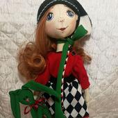 Кукла интерьерная кукла для игр и в подарок Алиса