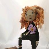 """Кукла интерьерная """"Внимательная  подружка"""""""