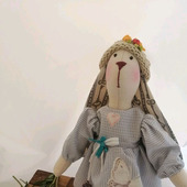 Заяц Тильда девочка