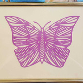 """Картина """"Бабочка вытынанка"""""""