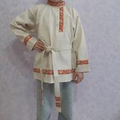 Рубашка косоворотка детская