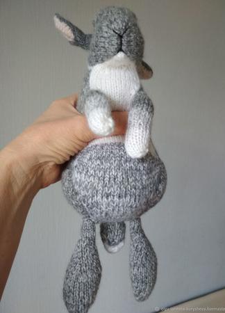 Кролик для объятий ручной работы на заказ