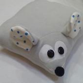 Мышка-подушка