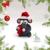 Мышонок новогодний