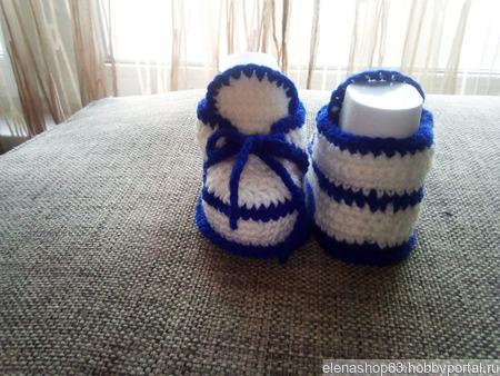 Пинетки-ботиночки ручной работы на заказ
